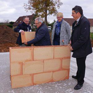Nouvelle résidence sénior, pose de la première pierre