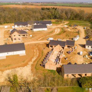 Photos avancée travaux village senior Promenade du Château