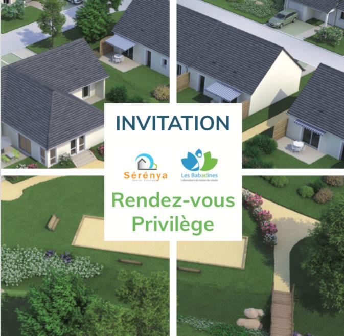 Invitation privilège promenade château