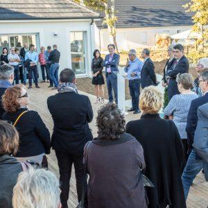 Inauguration maison séniors
